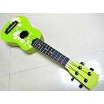 夏威夷小結他(青色有花紋) green ukulele