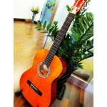 Standard size Classical Guitar (wooden Color)