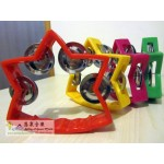Star Shape 1 Row Plastic Tambourine 星星形單排搖鼓