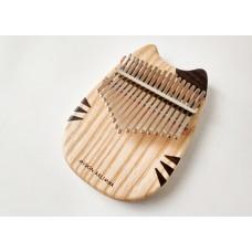 Myron 貓貓造型 17音全單板歐洲水曲柳原音拇指琴