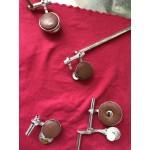 【技術開發及樂器維修】012 木管按鍵墊印再壓方法