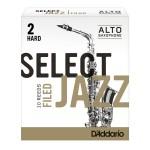 美國D'Addario 中音色士風 Select Jazz Filed簧片